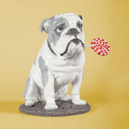 Lladro, รูปปั้น Lladro, พอร์ซเลน, porcelain, สุนัข