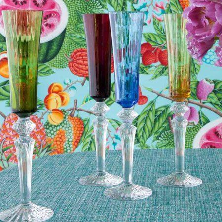 Baccarat Crystal, แก้วไวน์, แก้วแชมเปญ, แก้วบรั่นดี